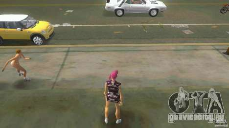 Girl Player mit 11skins для GTA Vice City