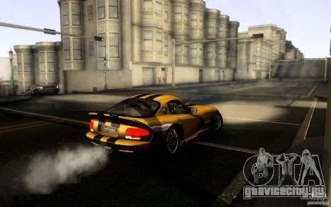 Dodge Viper GTS Coupe TT Black Revel для GTA San Andreas вид справа