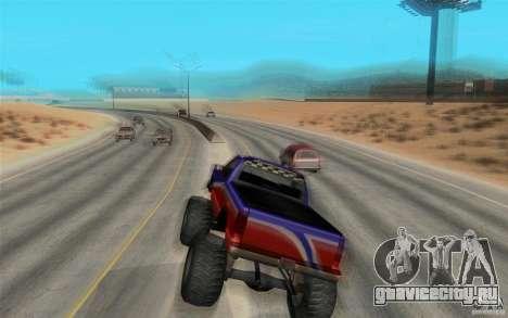 Maximum speed для GTA San Andreas