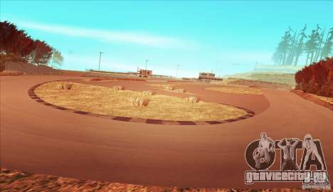 The Ebisu South Circuit для GTA San Andreas третий скриншот