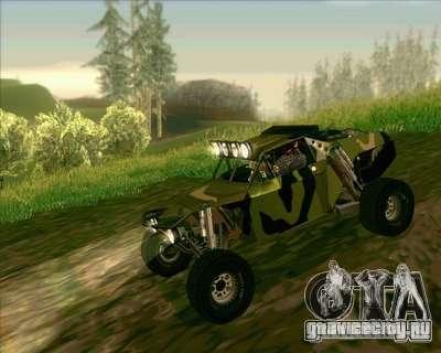 Ickler Jimco Buggy для GTA San Andreas вид сзади