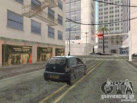 Volkswagen Fox 2011 для GTA San Andreas вид слева