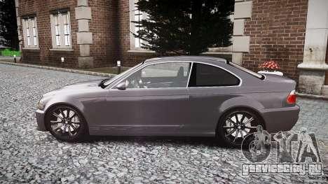 BMW 3 Series E46 v1.1 для GTA 4 вид слева