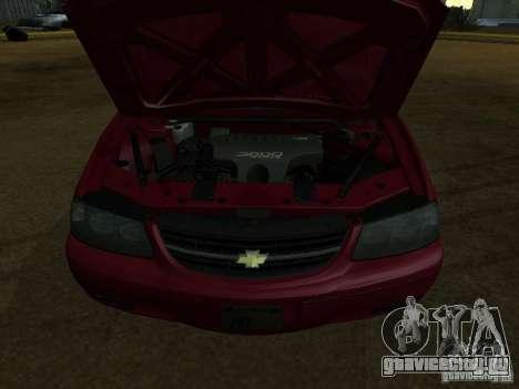Chevrolet Impala 2003 для GTA San Andreas вид сзади слева