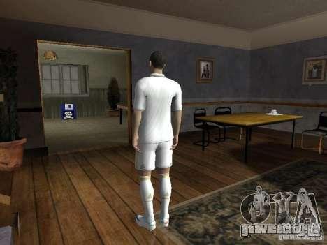 Cristiano Ronaldo для GTA San Andreas второй скриншот