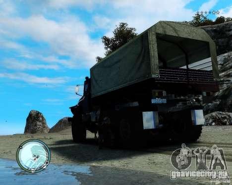 УраЛ 4320 для GTA 4 вид справа