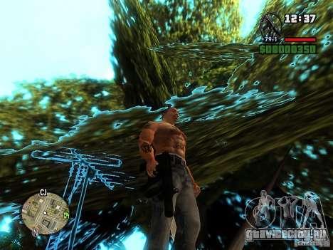Carbon MP5 с глушителем для GTA San Andreas второй скриншот