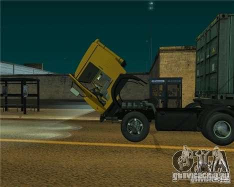КамАЗ 54112 для GTA San Andreas вид справа