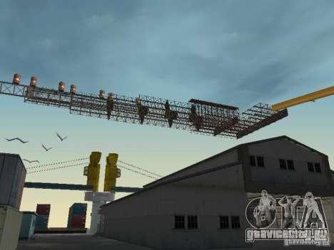 Huge MonsterTruck Track для GTA San Andreas третий скриншот