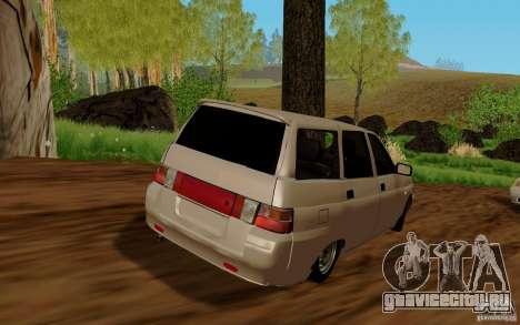 ВАЗ 2111 для GTA San Andreas вид слева