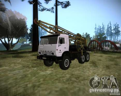 КамАЗ 43118 Буровая установка для GTA San Andreas