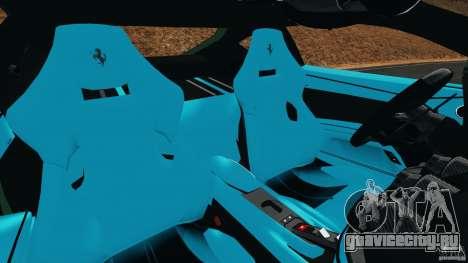 Ferrari F12 Berlinetta 2013 [EPM] для GTA 4 вид изнутри