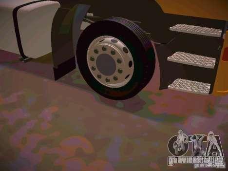Iveco EuroTech для GTA San Andreas вид сзади