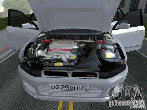 Mitsubishi Legnum для GTA San Andreas вид сзади слева