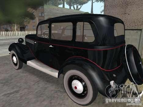 ГАЗ 11-73 для GTA San Andreas вид справа