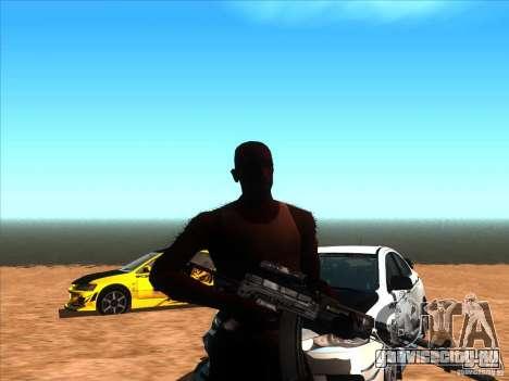 AEK-971 для GTA San Andreas второй скриншот