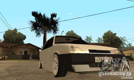 Lada 21099 Light Tuning для GTA San Andreas вид сзади