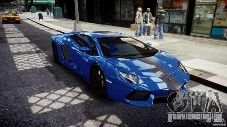 Lamborghini Aventador LP700-4 2011 [EPM] для GTA 4 вид изнутри