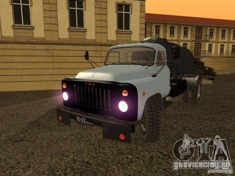 ГАЗ 53 Ассенизатор для GTA San Andreas