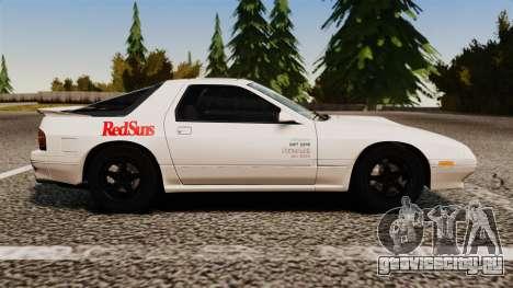 Mazda Savanna RX-7 для GTA 4 вид слева