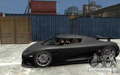Koenigsegg CCXR Edition V1.0 для GTA 4 вид слева