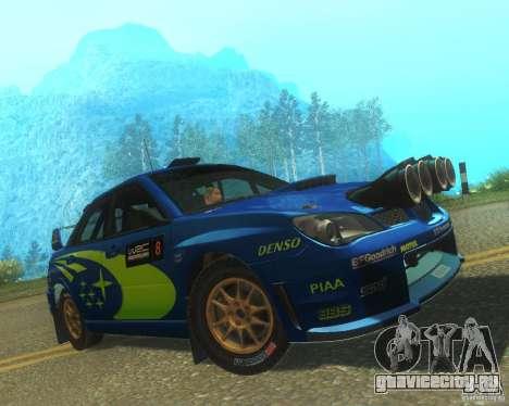 Subaru Impreza WRX STI DIRT 2 для GTA San Andreas