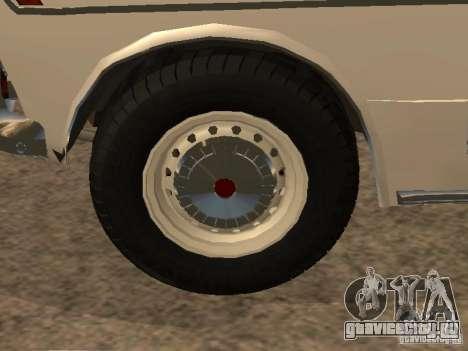 Ваз 2103 Милиция для GTA San Andreas вид сбоку