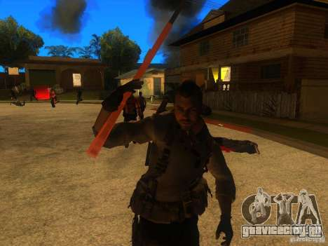 Animation Mod для GTA San Andreas седьмой скриншот