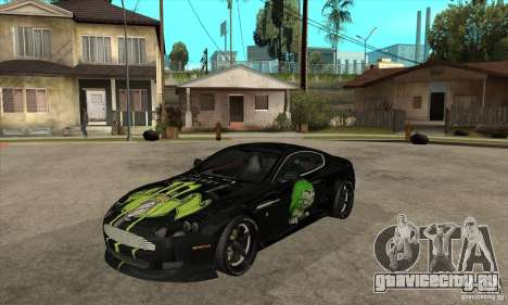Aston Martin DB9 NFS PS Tuning для GTA San Andreas