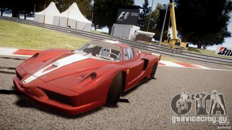 Ferrari FXX для GTA 4 салон