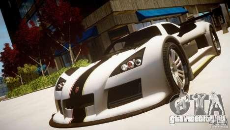 Gumpert Apollo Sport KCS Special Edition v1.1 для GTA 4 вид сзади