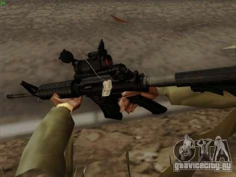 Colt Commando Aimpoint для GTA San Andreas четвёртый скриншот