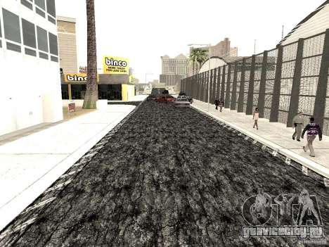 New roads in Las Venturas для GTA San Andreas четвёртый скриншот