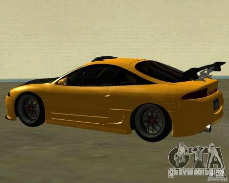 Mitsubushi Eclipse GSX tuning для GTA San Andreas вид справа