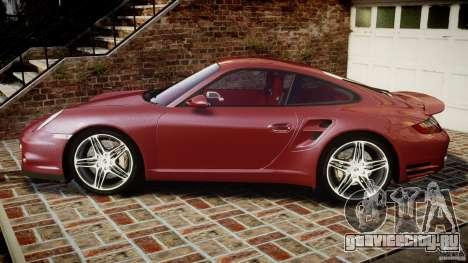 Porsche 911 (997) Turbo v1.1 [EPM] для GTA 4 вид слева