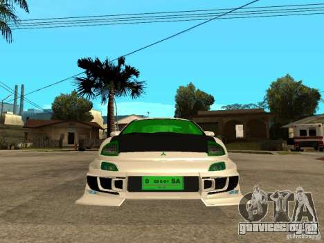 Mitsubishi Eclipse Midnight Club 3 DUB Edition для GTA San Andreas вид справа