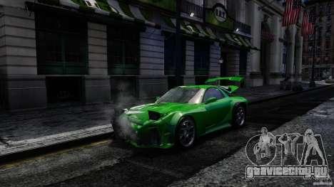 Mazda RX-7 Bushido для GTA 4 вид сзади
