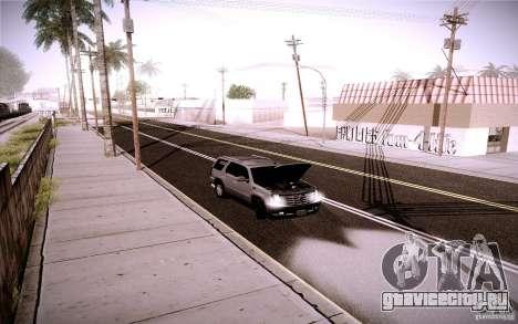 Cadillac Escalade для GTA San Andreas вид сбоку