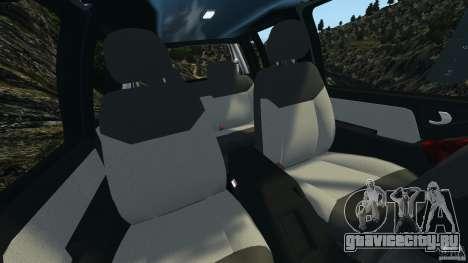 Chevrolet S-10 Colinas Cabine Dupla для GTA 4 вид изнутри