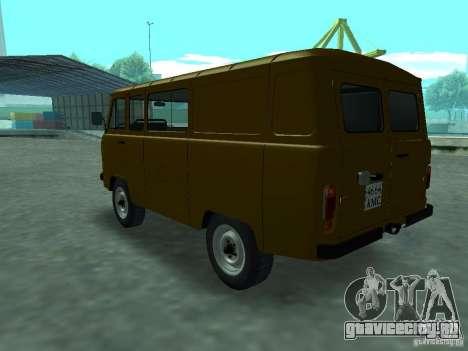 УАЗ 3909 для GTA San Andreas вид справа