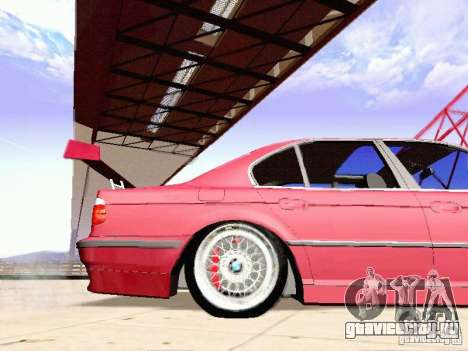 BMW 740i Tuned For Drift для GTA San Andreas вид слева