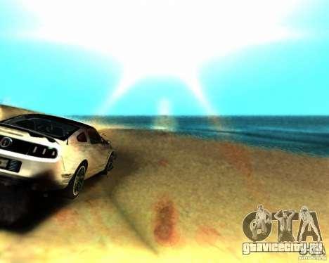 ENB For medium PC для GTA San Andreas второй скриншот