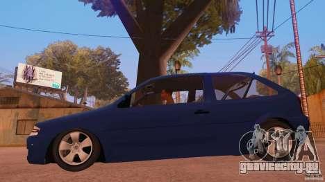 Volkswagen Gol G4 для GTA San Andreas вид слева