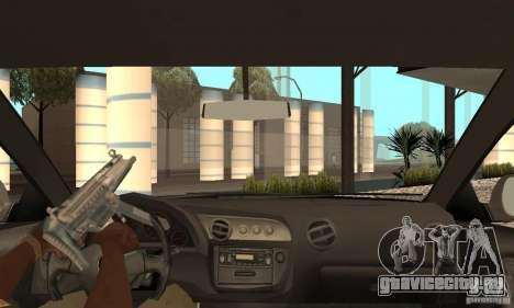 Acura RSX New для GTA San Andreas вид изнутри