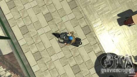 Zombie Bike Paintjob для GTA 4 вид справа