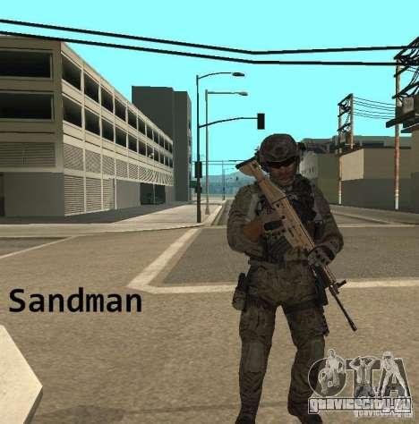 Frost and Sandman для GTA San Andreas четвёртый скриншот
