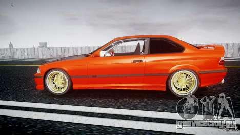 BMW E36 Alpina B8 для GTA 4 вид слева