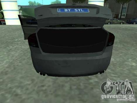Holden Calais для GTA San Andreas вид сзади