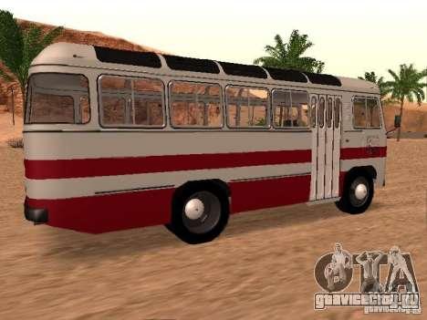 ПАЗ 672.60 для GTA San Andreas вид сзади