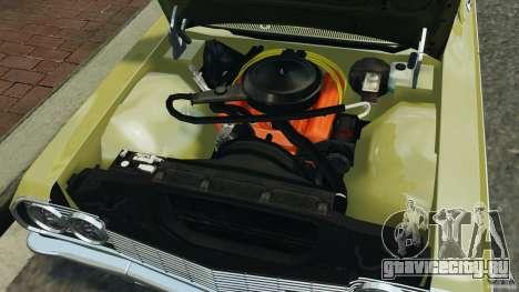 Chevrolet Impala SS 1964 для GTA 4 вид сверху